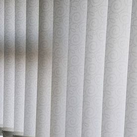 Standard vertical blinds fit with perfect measurements