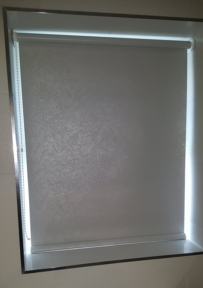 plain roller blind installed in a home in stoke on Trent
